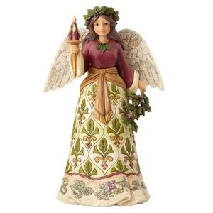 Jim Shore Victorian Angel With Candle